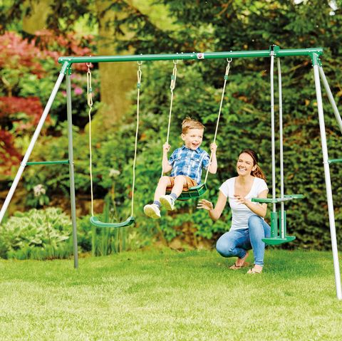Aldi is selling a giant garden swing set for just £70