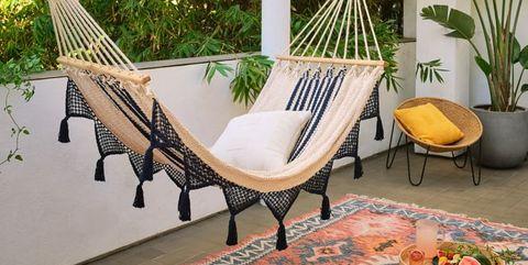 elle decor best indoor hammocks