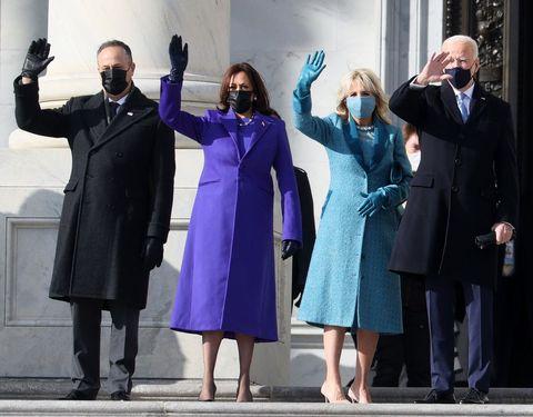 隠れた意味は? ジル・バイデン&カマラ・ハリスが米大統領就任式で選んだファッションデザイナー