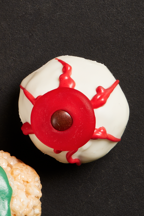 dougnut hole eyeballs recipe