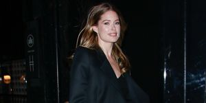Doutzen Kroes zwarte look New York