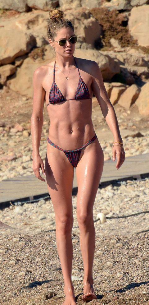 Doutzen Kroes, el pibón de la semana, en bikini las playas de Ibiza