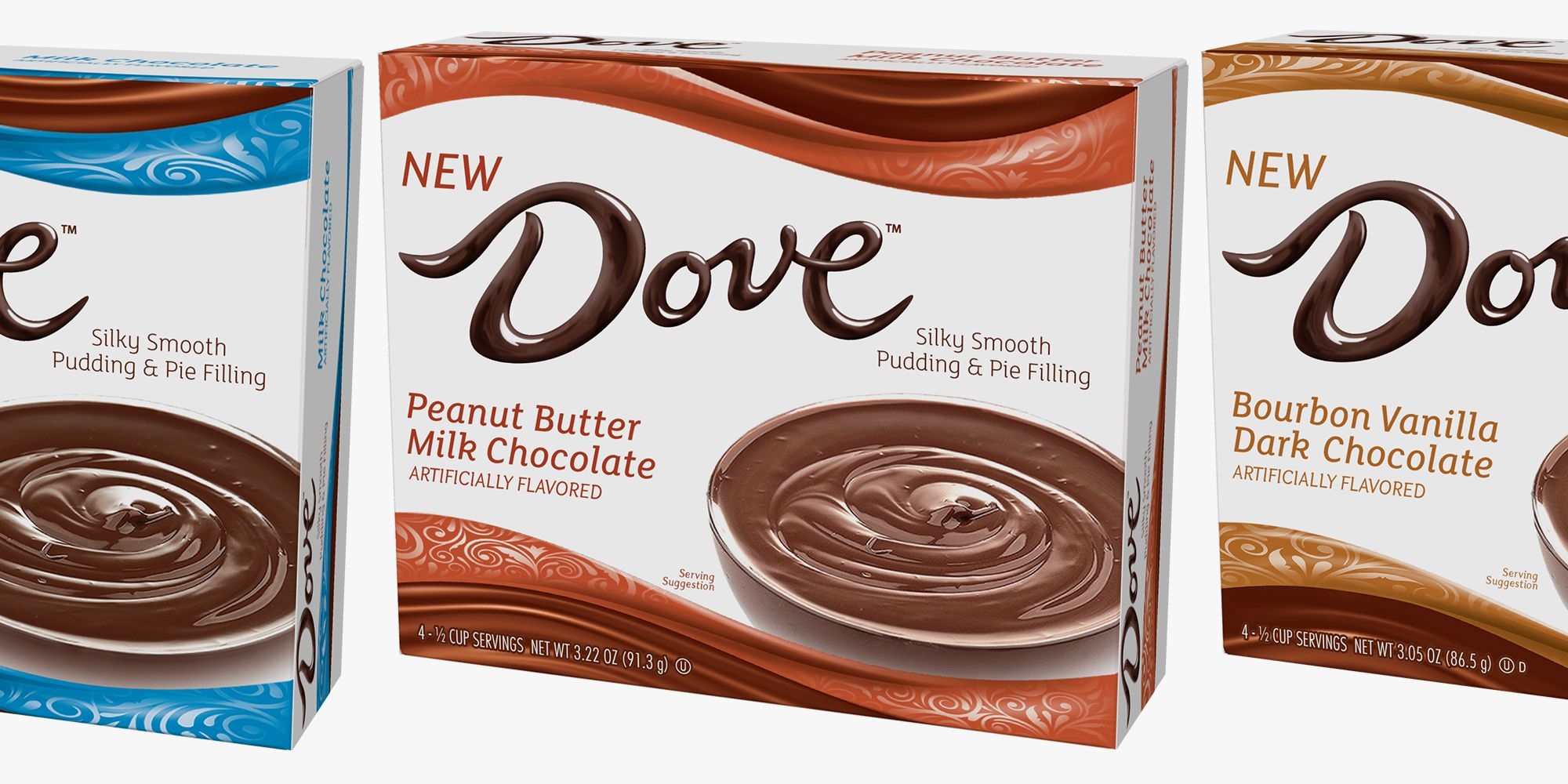 Dove Chocolate Is Releasing Pudding Mixes And Good Luck Picking Just One