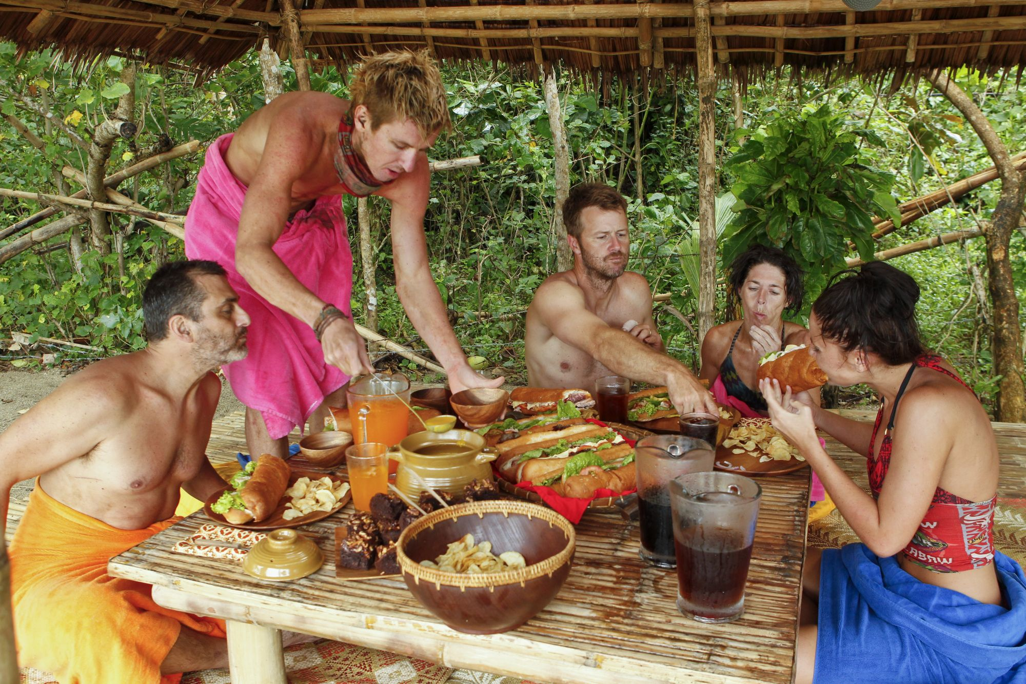 Here's What Survivor Contestants Actually Eat on the Show
