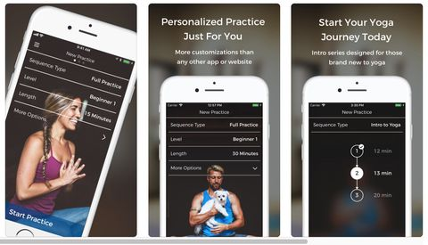 Down Dog yoga app