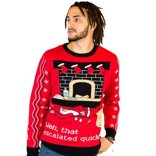 17 naughty christmas sweaters inappropriate but funny ugly christmas sweaters - Dirty Ugly Christmas Sweater