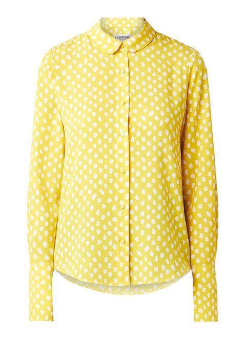 blouse essentiel antwerp geel lente