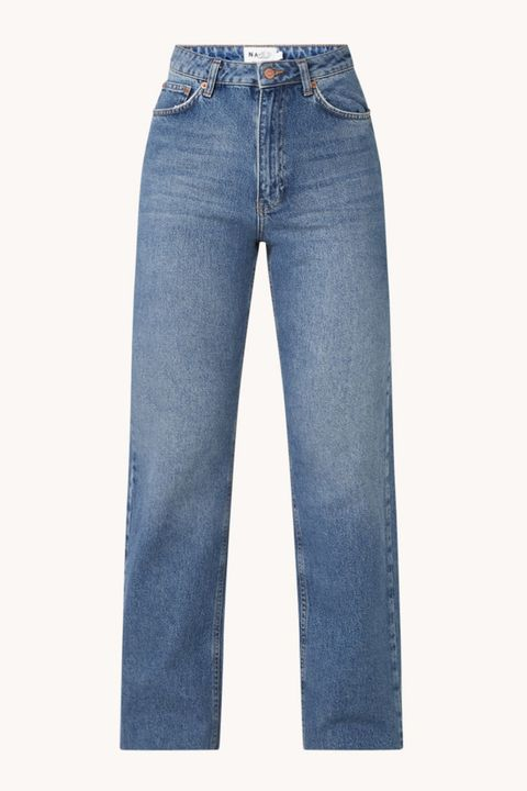 na kd high waist straight fit jeans