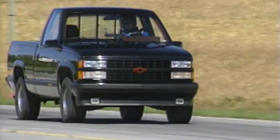 The Chevy C1500 454 SS Was GM's Other 90s Performance Pickup