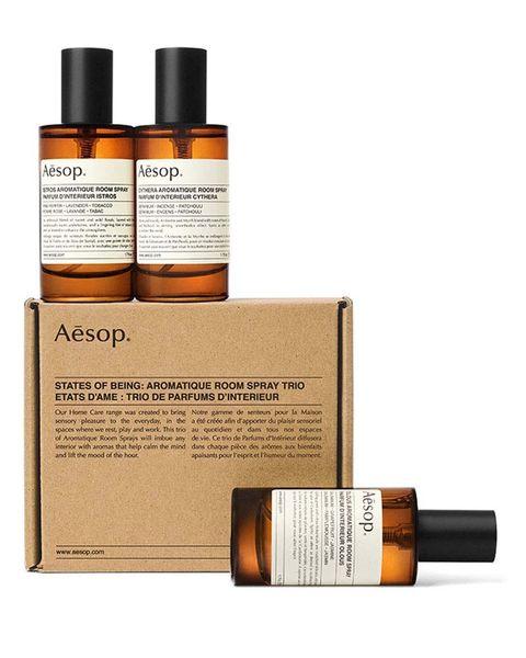 aesop room sprays trio   geurspray set