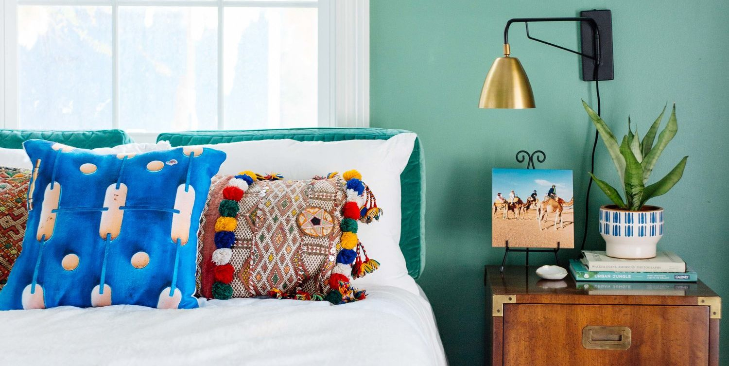 Colorful Bedrooms That'll Make You Wake Up Happier
