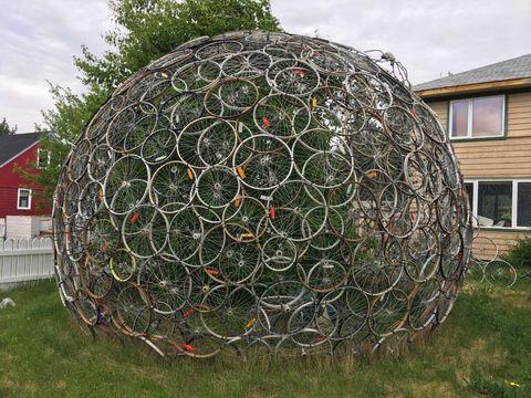 Bike dome
