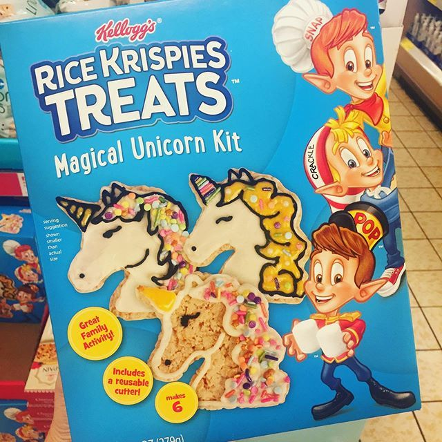 Unicorn Rice Krispies Treat Kits Have Been Spotted, And They'll Make Your Life So Much More Magical