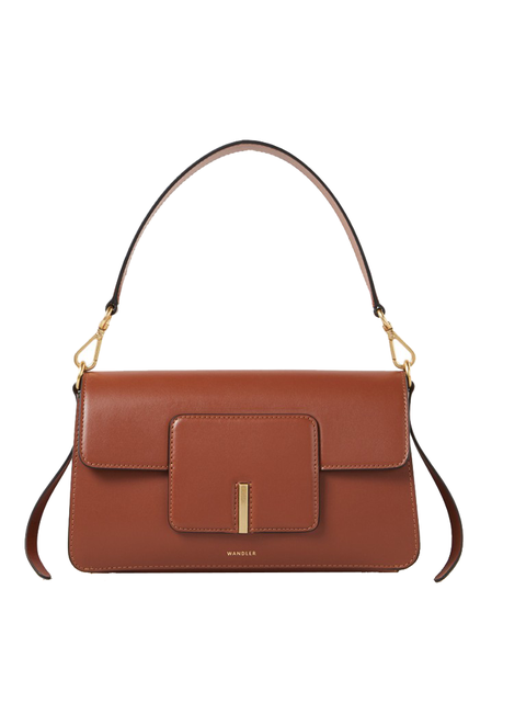 Handbag, Bag, Fashion accessory, Leather, Shoulder bag, Brown, Tan, Product, Orange, Material property,