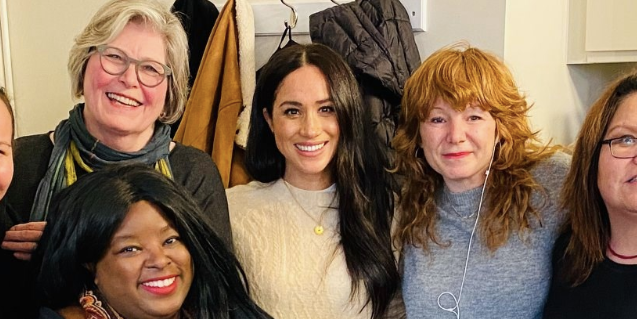 Duchess Meghan Looks Effortlessly Chic in a Laid-Back Look for Women's Center Visit