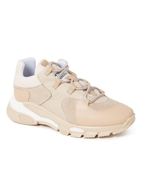 Shoe, Footwear, Sneakers, White, Beige, Outdoor shoe, Walking shoe, Running shoe, Sportswear, Athletic shoe,