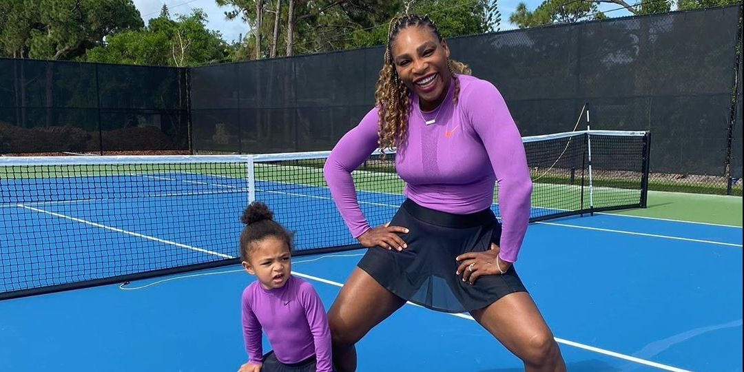 Serena Williams Twinning with Her Daughter Olympia Is the Cutest Thing Possibly Ever