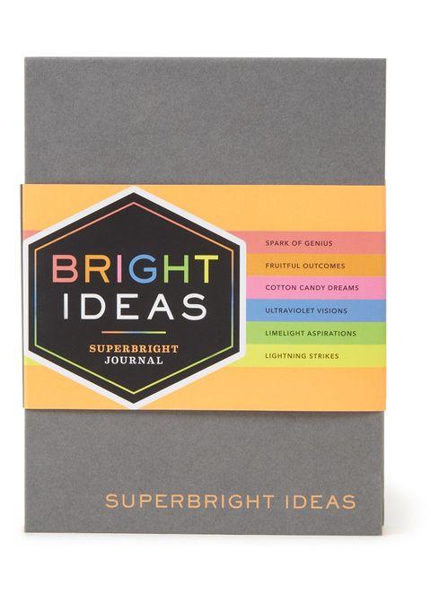 chronicle books bright ideas notitieboek