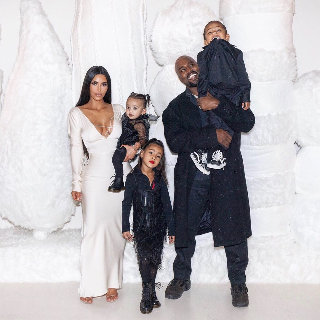Kim Kardashian and Kanye West's Winter Wonderland Christmas Party Cost About $1.3 Million