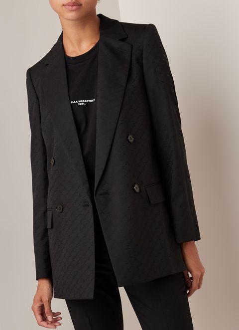Clothing, Suit, Outerwear, Blazer, Formal wear, Jacket, Overcoat, Button, Tuxedo, Coat,