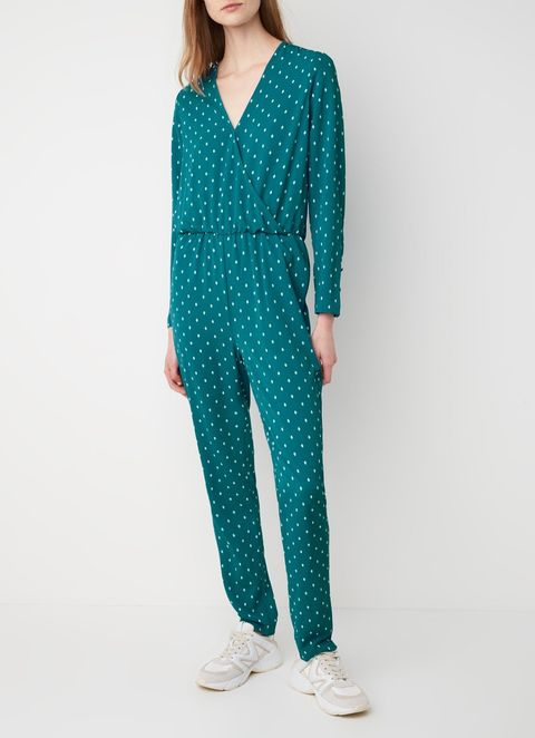 Clothing, Turquoise, Aqua, Blue, Teal, Pattern, Polka dot, Sleeve, Neck, Design,