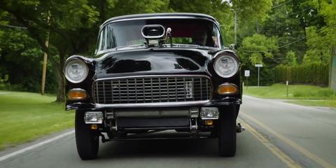 Land vehicle, Vehicle, Car, Classic car, Coupé, Sedan, Bumper, Antique car, Vintage car, Grille,