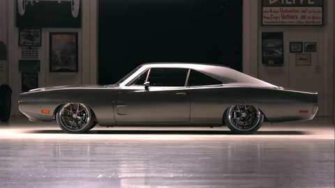 This Carbon Body Demon Powered 1970 Dodge Charger