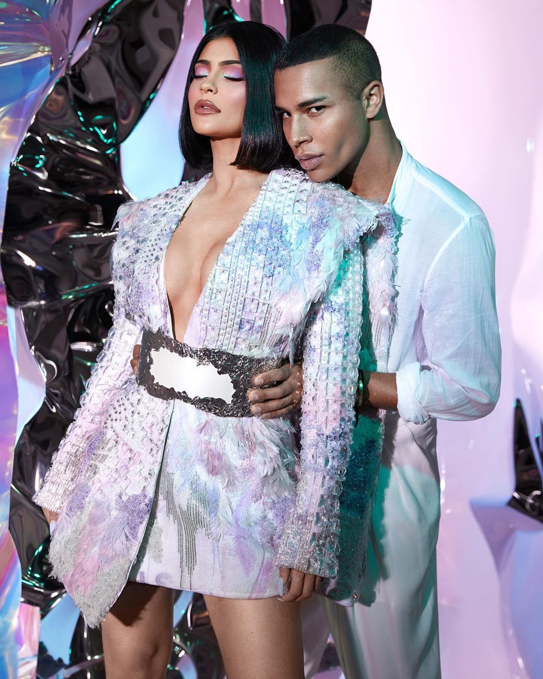 Kylie Jenner's Makeup Collaboration With Balmain Will Debut at Paris Fashion Week