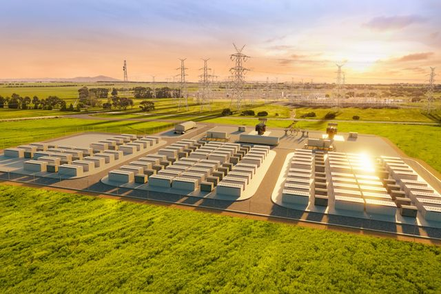elon musk battery farm