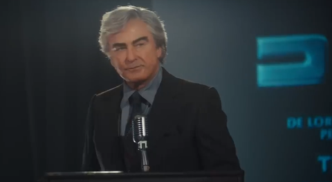 Here's Alec Baldwin as John DeLorean