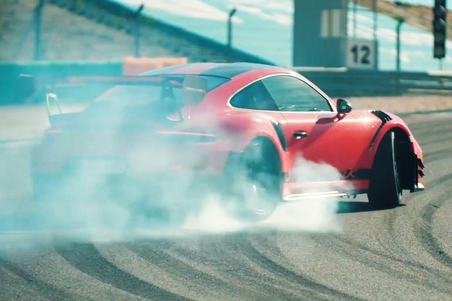 A Modified Porsche 911 Gt2 Rs Beat A P1 Around Portimao Circuit