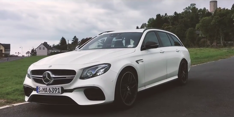 The 2018 Mercedes-AMG E63 S Is the Nurburgring\'s Fastest Wagon