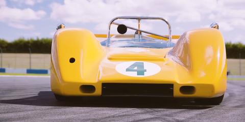 Land vehicle, Vehicle, Car, Sports car, Race car, Formula libre, Sports prototype, Group C, Classic car, Lotus 19,