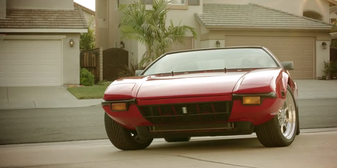 The DeTomaso Pantera Is the Vintage Supercar That Stays With You