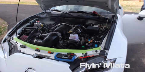 Behold the Glory of a Straight-Piped 575-HP V8 Miata