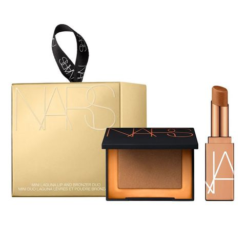 nars mini laguna lip and bronzer duo   limited edition make up set