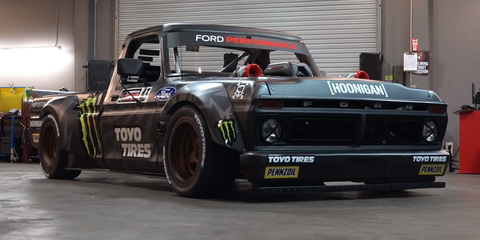Ken Block's Crazy 914-HP F-150 Is Designed to Be Destroyed and Rebuilt