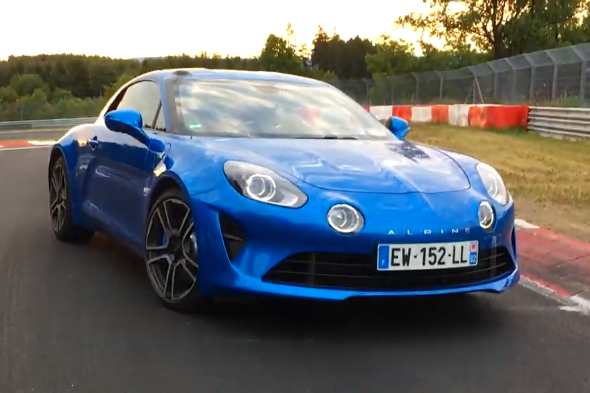 Watch the Lovely Alpine A110 Tackle the Nürburgring