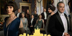 cartel Downton Abbey elle.es