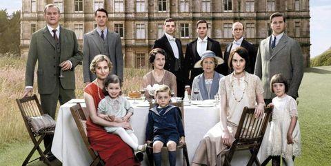 Reparto de 'Downton Abbey'