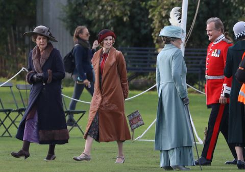 Rodaje Downton Abbey