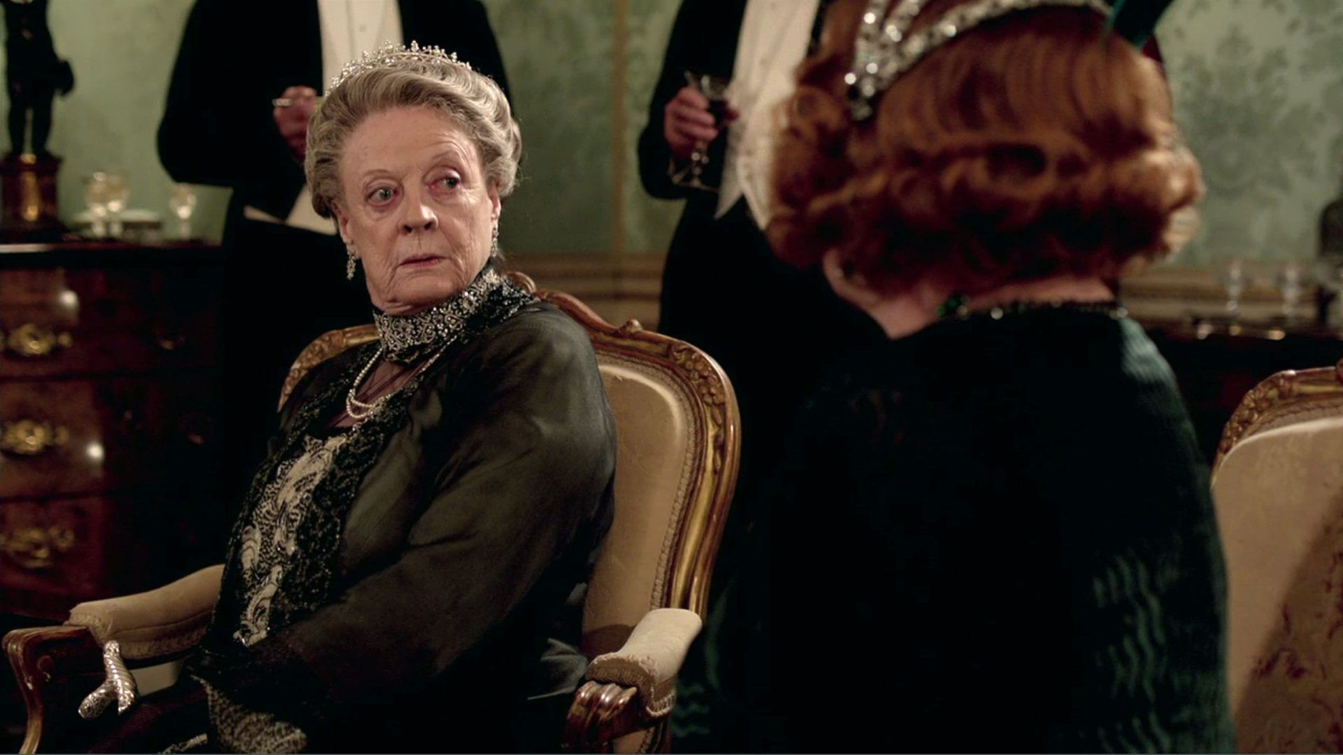 "Maggie Smith Says She ""Didn't Really Feel"" Like She Was Acting in Downton Abbey"