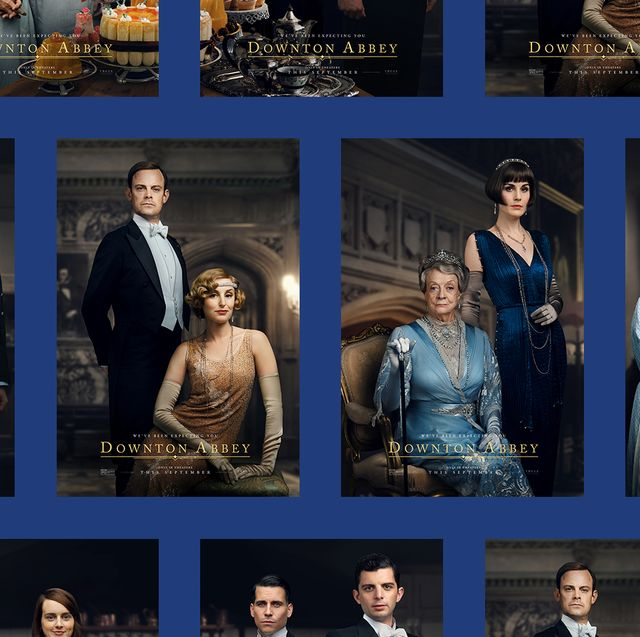 New Posters for the Downton Abbey Film Reveal Exactly Which Cast Members Are Returning