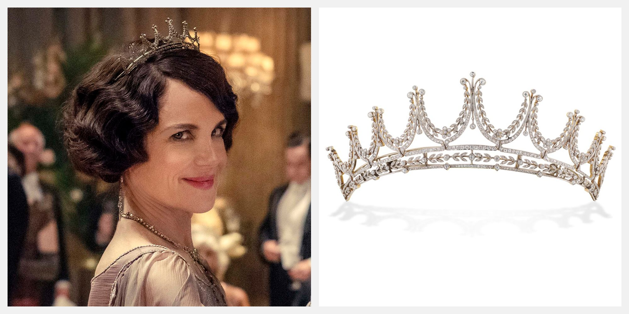 The Tiaras in the Downton Abbey Movie Are Based on Real Royal Tiaras