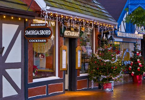 best christmas towns in usa california