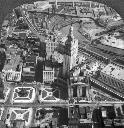 Downtown Cleveland In 1929