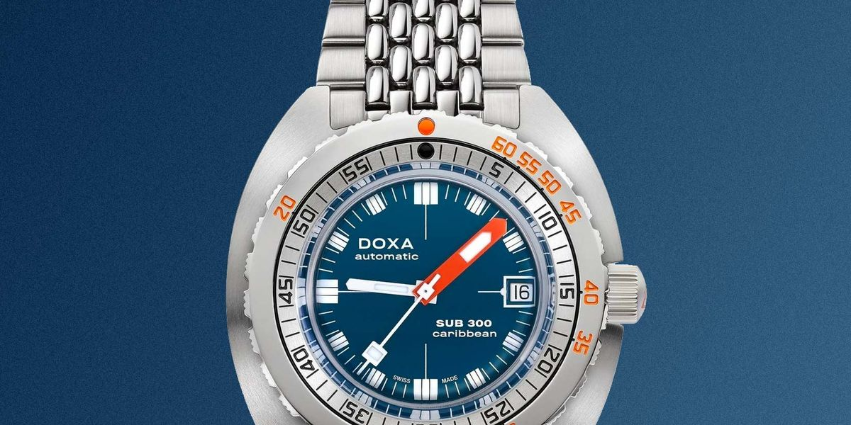 Doxa's Classic Diver Is Now Thinner and More Accurate