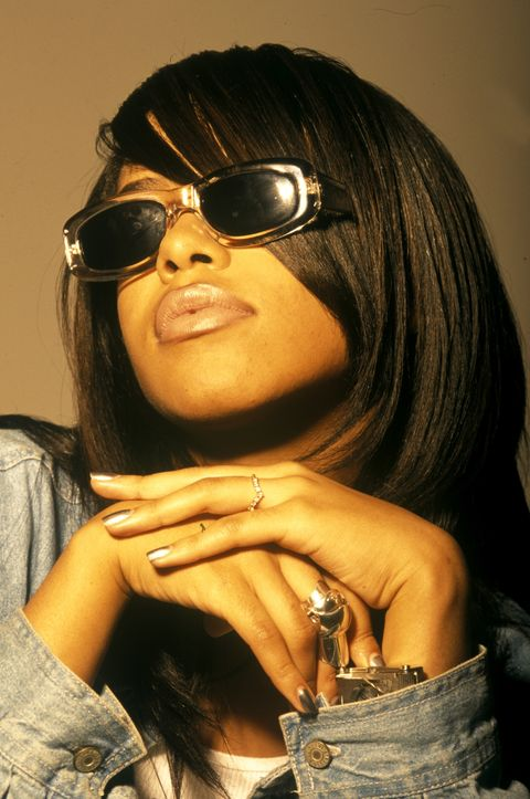 Aaliyah Best Beauty Looks M.A.C Collaboration