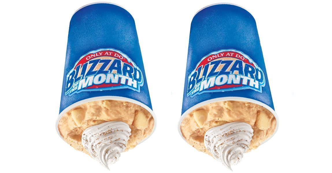 Pumpkin Pie Blizzards Are Officially Coming Back To Dairy Queen Before The End Of August