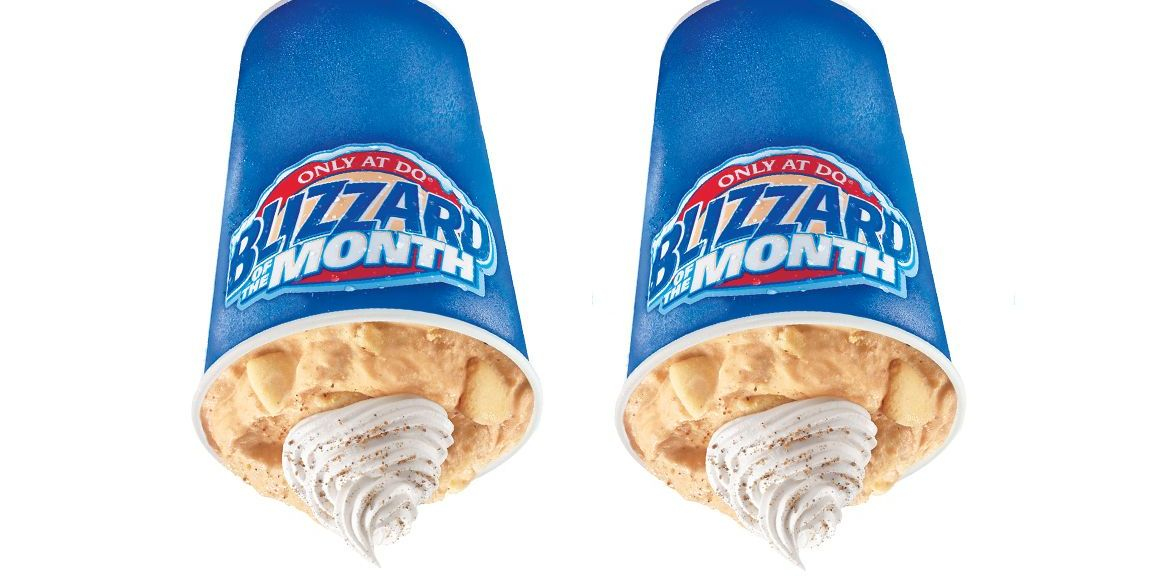 Dairy Queen Is Bringing Back Its Pumpkin Pie Blizzard, Because How Could It Not?